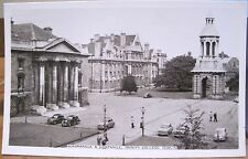 Irish RPPC Postcard TRINITY COLLEGE CAMPANILE Dublin Ireland Cardall 1960s Photo