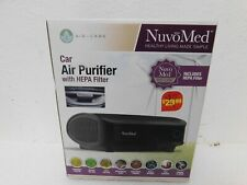 NuvoMed car air purifier with Hepa filter healthy air-care New In Box free ship.