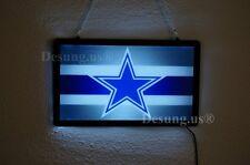 "New Dallas Cowboys Led Neon Sign 14"" Wall Decor Light Lamp Windows Display Bar"