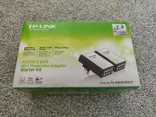 TP-Link TL-PA4030P KIT AV500 Mini Powerline Adapter Starter Kit 2 Port
