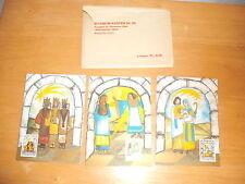 3 LIECHTENSTEIN Christmas 1984 Stamp Postcards Maximum Karten First Day Issue