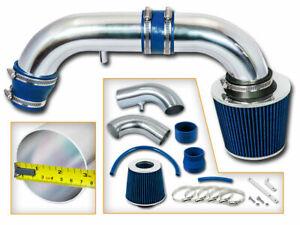 Short Ram Air Intake Kit +BLUE Filter for 95-00 Stratus/Cirrus/Breeze 2.0 2.4 L4