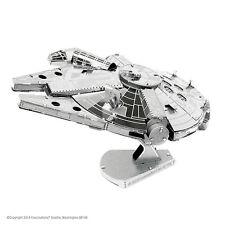 Metal Earth 3D Laser Cut Steel Model Kit Star Wars Millennium Falcon Handmade 1