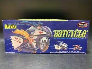 Batman: Batcycle w/ Robin's Go Kart - 2003 Polar Lights Model Kit - NEW, UNUSED!