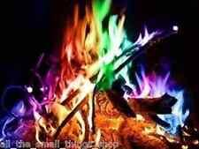1 x mística Fuego Color Changer Estufa a rajo abierto chiminea llenador de la media