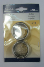 Anelli per Tende in acciaio Nickel satinato 20mm marca Swish Art. 20096