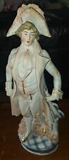 Antique Victorian era German fairing COLONIAL MAN 2390 Germany statue figurine