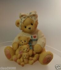 """CHERISHED TEDDIES  """"IF A MOM'S LOVE COMES IN ALL SIZES"""" 302988 MINT IN BOX"""