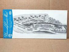 1957 University Court Motel Brochure Coral Gables Florida Mid Century Modern FL