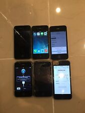 Lots 6 Apple iPhone 3GS, 4 and 5s Broken -  AC 289
