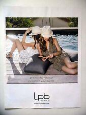 PUBLICITE-ADVERTISING :  LPB Woman  2016 Mode,Chapeaux