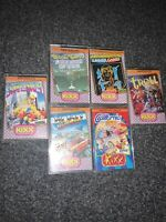 6x GAMES BUNDLE JOBLOT by KIXX for Amstrad CPC-464