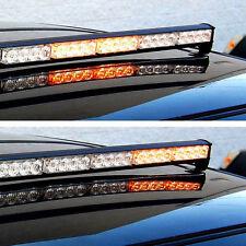 HQRP Luz estroboscópica de emergencia 32 LED, strob lámpara amarilla de tablero