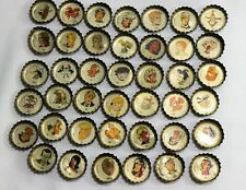 Big batch and premium bottle caps from the 80s