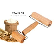 Pastry Wooden Rolling Pin Pizza Dough Roller Home Kitchen Pie Bread Baking Tool-