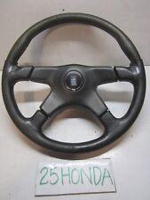 Nardi Torino Leather Steering Wheel 4 spoke Rare Honda VW Mazda