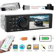 "Autoradio 4.1"" mit Bluetooth Freisprech USB SD AUX FM 7Farben 1DIN MP3 MP5 Video"