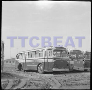 TORONTO BUS NEGATIVE: TTC 1131 BRILL RETIRED (1965 ORIGINAL)