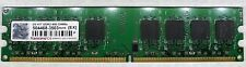 Barrette Mémoire 2GB Transcend 2G KIT DDR2 800MHz PC2-6400 504468