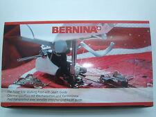 Original BERNINA Obertransportfuß Nr. 50 m. 3 Wechselsohlen und 2 Kantenlineal
