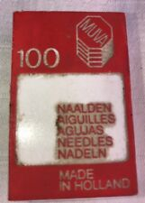 Box 100 muva holland needles vintage 129x1 industrial machine 16-100