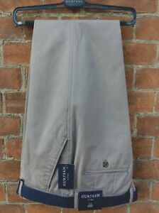 Men's taupe chino trouser 100% Cotton- many sizes - RRP £59.95 Our Price £24.95