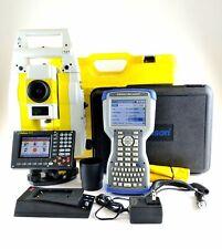 Geomax Zoom80 R 2 A10 Robotic Total Station Surveyor 2 Survce Kit