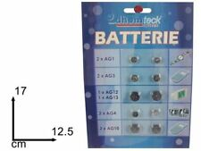 ds Set 10 Pezzi Batteria A Bottone Varie Misure Per Orologi Elettronica idea
