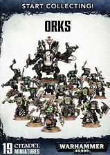 Start Collecting Orks Warhammer 40.000 Ork Games Workshop GW 40k Ork 70-50 Armee