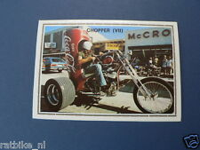 SMP142- CHOPPER COCA-COLA TRIKE MOTORCYCL PICTURE STAMP ALBUM CARD,ALBUM PLAATJE