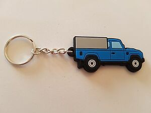 Landrover 110 Key Anello Truck Cab and 3/4 Tilt Blue