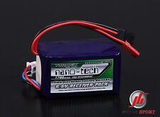 Nano-tecnología 1700mah 2s 6,6 / 20 ~ 40c vida Receptor Batería Pack