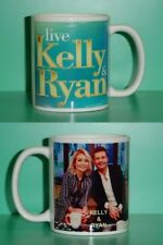 KELLY Ripa and & RYAN Seacrest - with 2 Photos Designer Collectible GIFT Mug