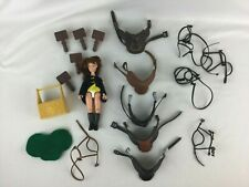 Vintage 1988 Grand Champion Lot Horse Saddles Rider Accessories Brushes Marchon