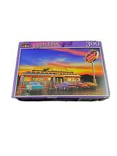New Jigsaw Puzzle 300 Piece Retro American Diner at Dusk
