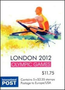 MINT 2012 LONDON OLYMPICS P&S STAMP BOOKLET - BARCODE 544