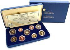 Irland Euro KMS 2007 PP Set 1 Cent bis 2 Euro Harfe und 2 Euro Römische Verträge