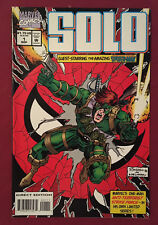 SOLO #1 NM- (Marvel 1994) Spider-man guest appearance