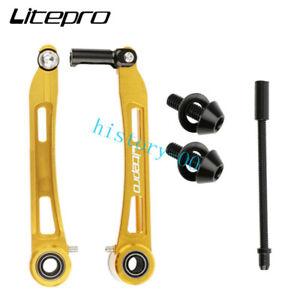1 pair LitePro Ultra Light Brakes Road Folding Bike 108mm Long Arm V brake 98g