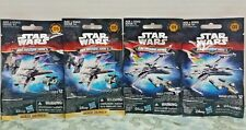 Disney Star Wars/The Force Awakens Micromachines 4 Blind Bags Series 1 & 5 Gift