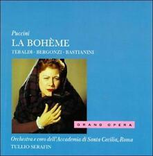 Puccini: La Boheme (NEW) - Tebaldi; Serafin; Bergonzi; Bastianin - Audio CD