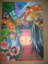 Final Fantasy VII BL doujinshi - Cid/Vincent - FF7 yaoi