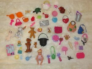Barbie Doll Baby Krissy Dollhouse Accessory Monster High Ever After High LOT Dog