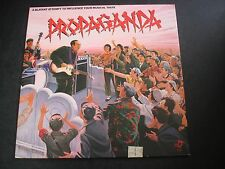 PROPAGANDA A BLATANT ATTEMPT TO INFLUENCE MUSICAL TASTE LP RECORD THE POLICE