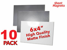 """10 PACK   6"""" x 4"""" (150mm x 100mm) Magnetic Photo   MATTE   Magnetic Paper"""