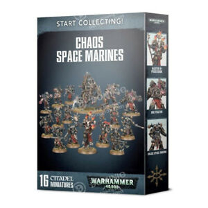 Games Workshop Warhammer 40,000 Start Collecting! Chaos Space Marines