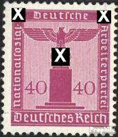 Deutsches Reich D165 Gefälligkeitsentwertung gestempelt 1942 Adler auf Sockel