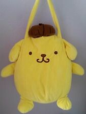 NWT Pom Pom Purin Plush Shoulder Purse Bag Pompompurin Sanrio Sega Prize Japan
