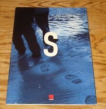 Original 2002 Saturn S-Series Sales Brochure 02 SL SL1 SL2