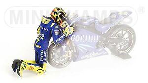 1:12 Minichamps Valentino Rossi Figurine Moto GP Welkom 2004 1st Win The Kiss LE